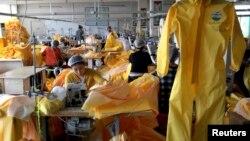 位於山東的一家車衣工場。