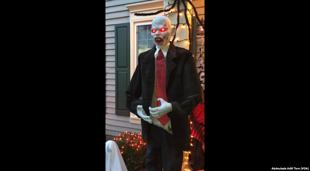 Ranar wasan Halloween, Gaithersburg, Maryland Ranar 31 Oktoba 2019.