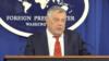 El subsecretario para asuntos del Hemisferio Occidental, Michael Kozak, criticó la ley aprobada por el gobierno nicaragüense y dijo que podría perjudicar agencias no gubernamentales.