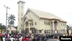 Eglise St Philips, Etat d'Anambra, Nigeria (Archives)