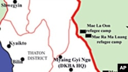 နယ္ျခားေစာင့္ လက္ခံတဲ့ DKBA ဌာနခ်ဳပ္ သိမ္းပိုက္ခံရ