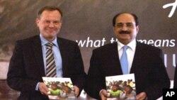 رپورٹ کے اجراء کے موقع پاکستان اور اقوام متحدہ کے عہدیدار