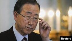 联合国秘书长潘基文 (资料照片)