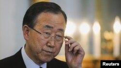 联合国秘书长潘基文(资料图片)