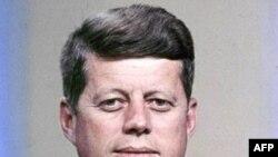 35-ий президент США Джон Фітцджеральд Кеннеді