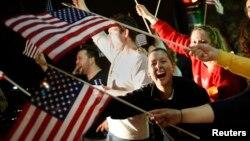 美國人慶祝第二名疑犯落網