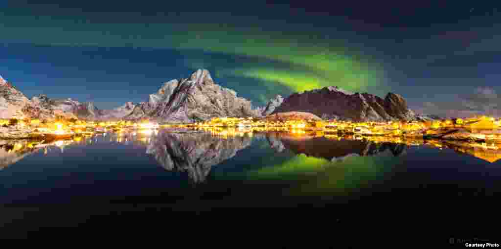 """Reflected Aurora"" by Alex Conu (www.colorsoflolaten.com). (Courtesy: twanight.org/contest)"
