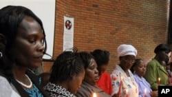Wanawake wa Kenya katika mkutano juu ya haki zao.