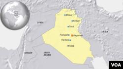 Iraq cities: Mosul, Tikrit, Kirkuk, Karbala, Fallujah, Baghdad