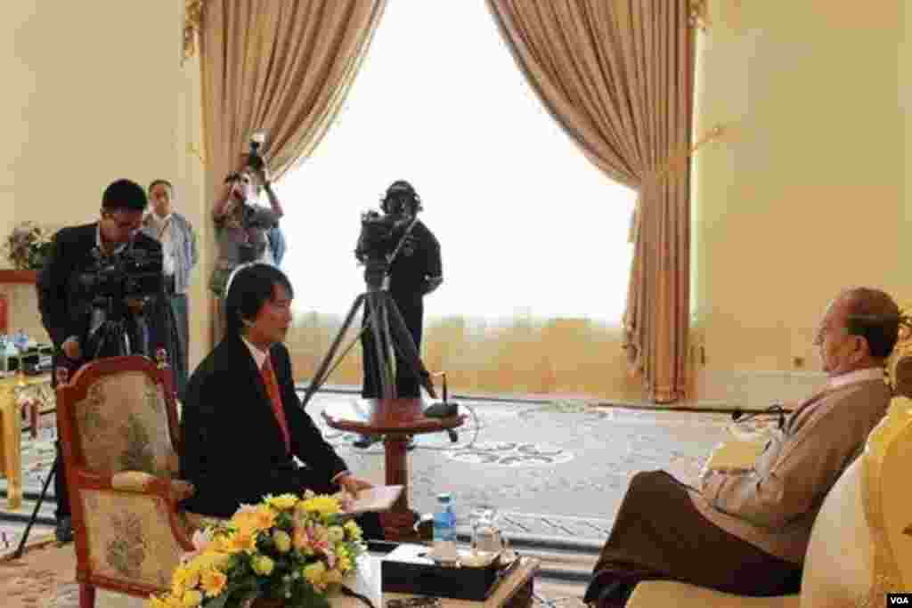 Exclusive interview with President Thein Sein by Than Lwin Htun
