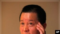 中國知名異議律師高智晟(2010年4月7日資料圖片)