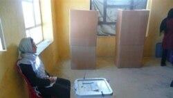افغان ها به انتخابات پارلمانی اعتراض می کنند