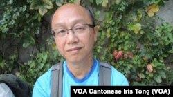 參與星期日集會的香港市民馮先生表示,免費電視發牌爭議令他慎重考慮是否參與佔中爭取真普選