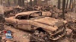 خرابیهای گسترده به جا مانده از آتشسوزی کالیفرنیا