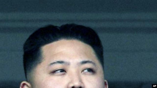 North Korea's leader Kim Jong Un (file photo)
