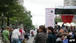 Vaşinqtonda ənənəvi Türk festivalı keçirilib
