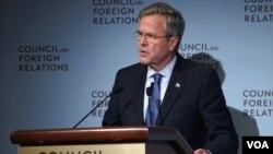 布什认为,中国政府的过度干预将损害其经济增长前景。(美国之音章真拍摄)