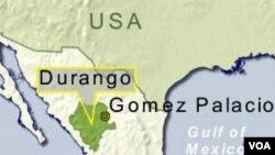 """Sipir-sipir penjara di negara bagian Durango, Meksiko memanfaatkan napi sebagai """"pembunuh bayaran""""."""