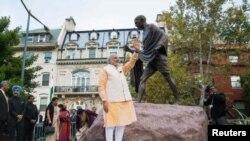 د هند او امریکا تر منځ د لا نږدې اړیکو دپاره دواړه مشران ژمن ښکاري.