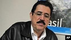 巴西使馆内被罢黜的洪都拉斯总统塞拉亚
