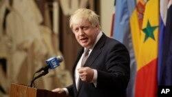 보리스 존슨 영국 외무장관. (자료사진)