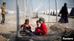 کودکان عراقی در یکی از اردوگاههای آوارگان