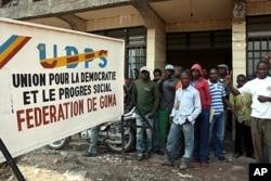 Bureau de la campagne de l'UDPS à Goma (archives 2011)