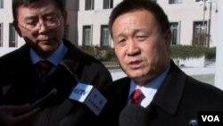 三一集团有限公司副总经理吴佳梁(视频截图)
