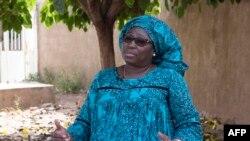 Khadija Doucouré, coordinatrice régionale du FIDA, à Nganda, le 6 décembre 2017.