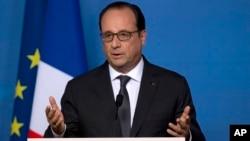 Presiden Perancis Francois Hollande mengatakan bahwa konferensi internasional Israel-Palestina di Paris ditunda (foto: dok).