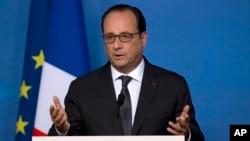 Madaxweynaha France Francois Hollande. (File Photo)