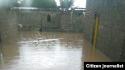 Chuvas provocam destruição