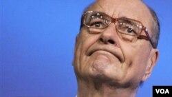 Jacques René Chirac, mantan Presiden Perancis yang menjabat dari tahun 1995-2007 (foto: dok).