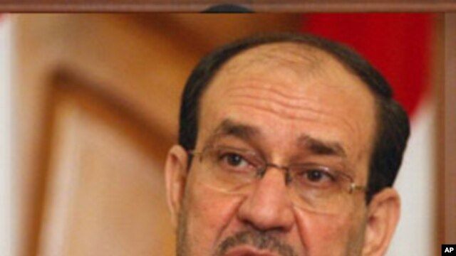 Iraqi Prime Minister Nuri al-Maliki (file photo).