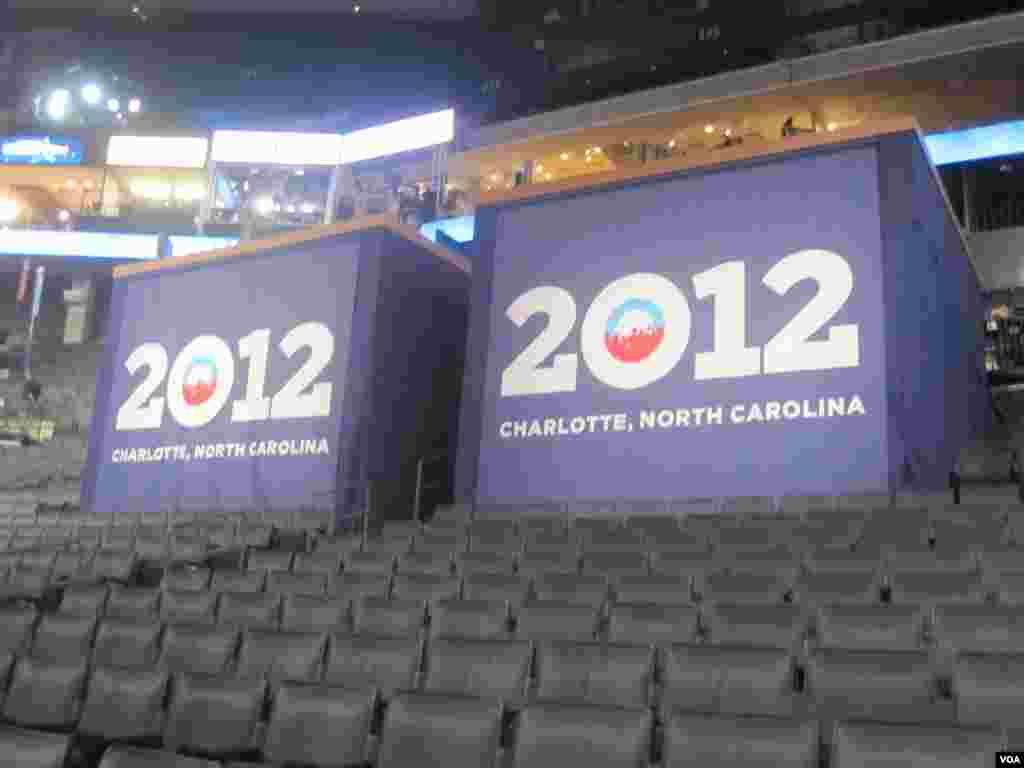 Barack Obama sera renommé comme le candidat de son parti pour un second mandat. (N. Pinault/VOA)