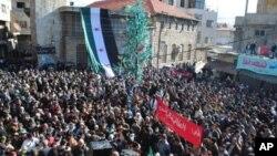 چالاکوانانی سوری: سهرههڵـداوان دهستدهگرن بهسهر شارۆچکهیهکی نزیک دیمهشقدا