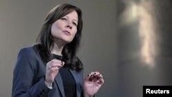 메리 바라가 신임 GM CEO. (자료사진)