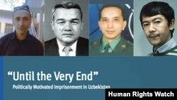 HRW O'zbekiston hukumatini dunyodagi eng repressiv tuzumlardan biri deb hisoblaydi. 2014-yilning oxirida chiqargan hisobotida Xayrulla Hamidov (suratda o'ng tarafdan birinchi) 34 siyosiy mahbusdan biri deya ko'rsatilgan edi.