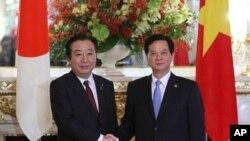 Thủ tướng Nhật Bản Yoshihiko Noda và Thủ tướng Việt Nam Nguyễn Tấn Dũng