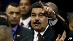 El presidente venezolano Nicolás Maduro estará hoy en Nueva York.