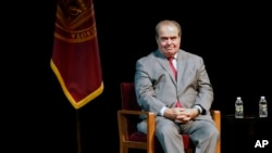 Antonin Scalia, umwe mu bacamanza ba sentare nkuru ya Amerika