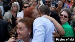 Obama recibió el apoyo de las mujeres en un acto realizado en Tampa, Florida antes de su viaje a Colombia. (Foto: Casa Blanca)