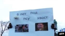 """Aktivisti: Putinova pobeda - """"uvreda"""""""