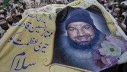 تظاهرات در حمايت از قاتل فرماندار سکولار پاکستان که به اعدام محکوم شده است