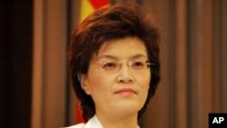 姜瑜希望美日韓聚首能使局勢降溫。