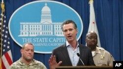 El gobernador de California, Gavin Newsom, informó que las tropas en la frontera con México serán retiradas.