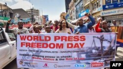 Intathelizindaba zeKenya Zinanza ilanga le World Press Freedom Day.