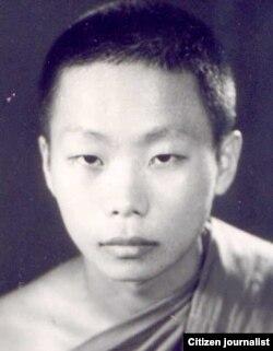 ອ້າຍຈົວນ້ອຍ Kou Yang ທີ່ວັດ ສຣີສະຫວ່າງວົງ (1970)