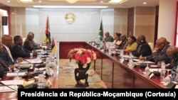 Encontro entre Moçambique e África do Sul, Maputo