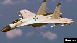 中国歼-11战机(资料照)